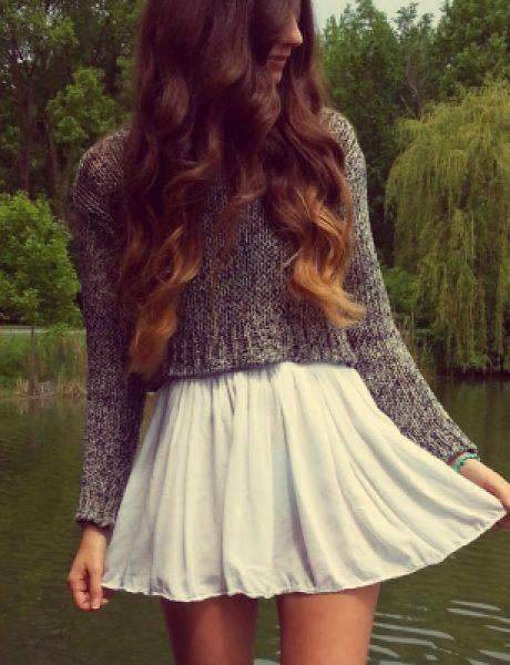Šta obući ove nedelje: Džemper i suknja