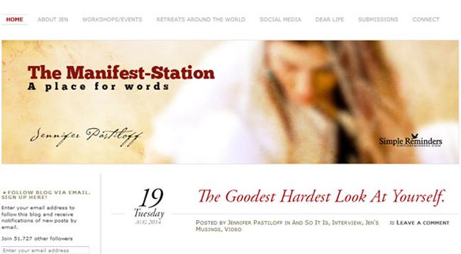 The Manifest Station Website Veb sajtovi koji će vas nadahnuti