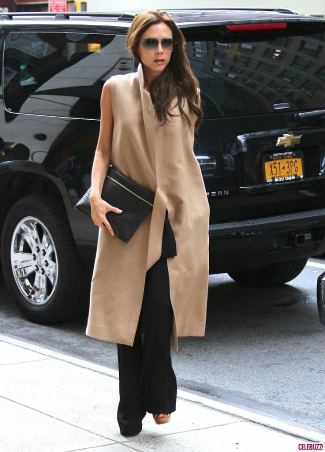 Victoria Šta obući ove nedelje: Dugački kardigan