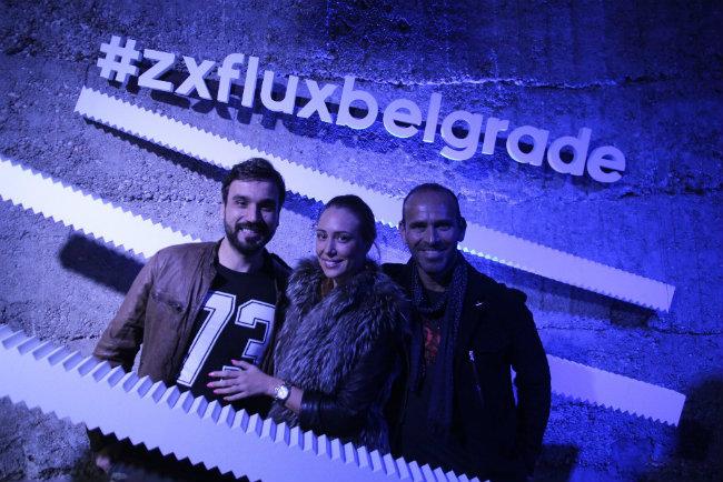 Vuk Brajovic i prijatelji Gosti žurke zajednički dizajnirali adidas patike