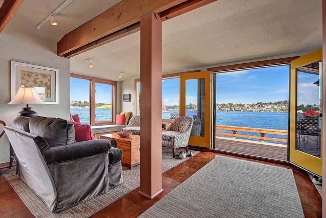 dnevna soba Prodata kuća iz filma Besani u Sijetlu