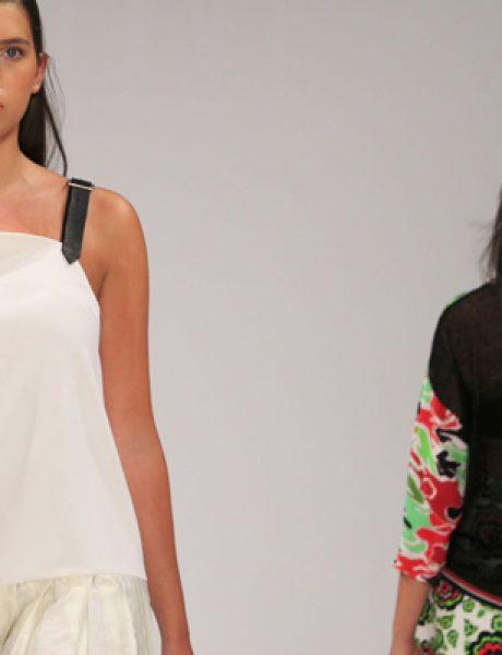 Modna revija za punije dame na londonskoj Nedelji mode