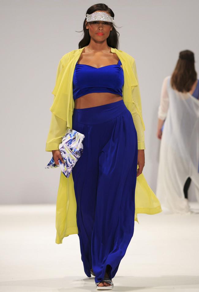 evans2 Modna revija za punije dame na londonskoj Nedelji mode