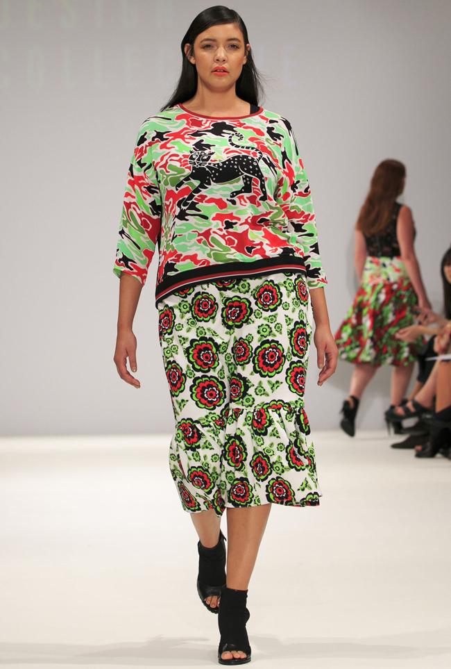 evans3 Modna revija za punije dame na londonskoj Nedelji mode