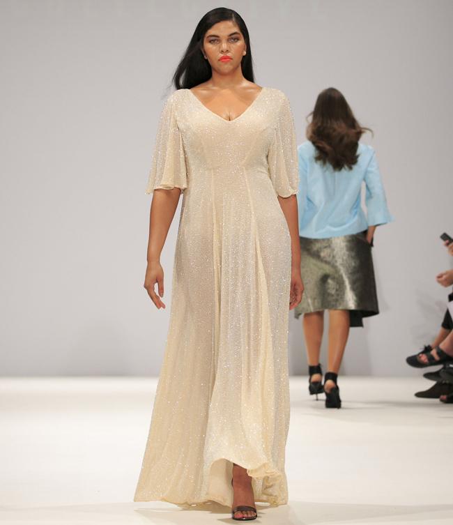 evans4 Modna revija za punije dame na londonskoj Nedelji mode