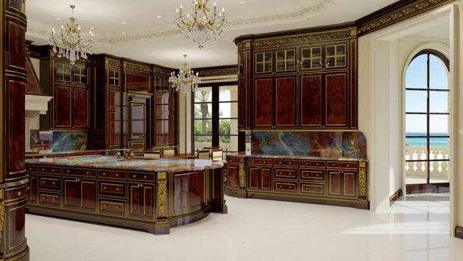 kuhinja9 Kuće bogatih: Najskuplja američka vila