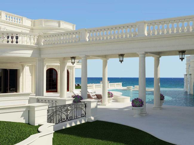 le palais royal poolarea02 Kuće bogatih: Najskuplja američka vila