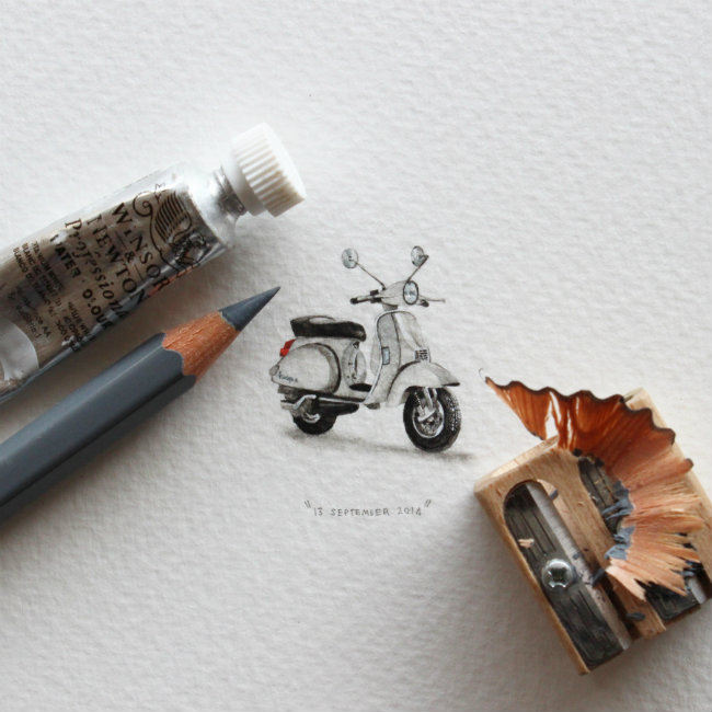 mini crtez Crteži za mrave