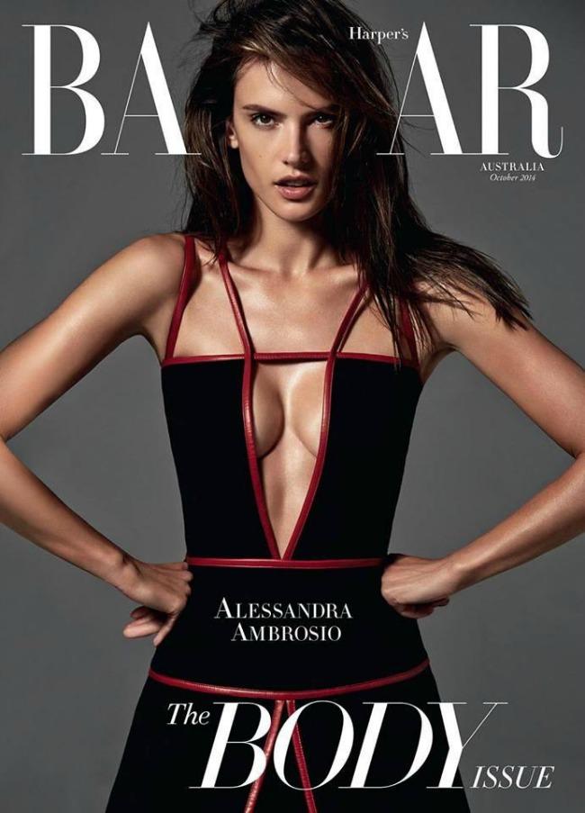 modne vesti dzordz stajler lanvin i alesandra ambrosio harpers bazaar naslovnica Modne vesti: Džordž Stajler, Lanvin i Alesandra Ambrosio