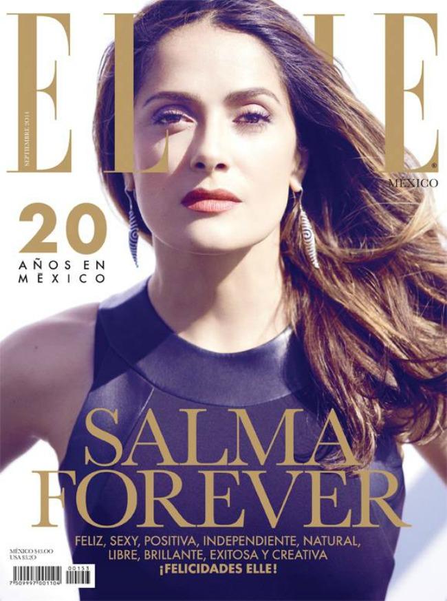 modne vesti selma hajek karl lagerfeld i dzenifer lopez elle mexico naslovnica Modne vesti: Selma Hajek, Karl Lagerfeld i Dženifer Lopez