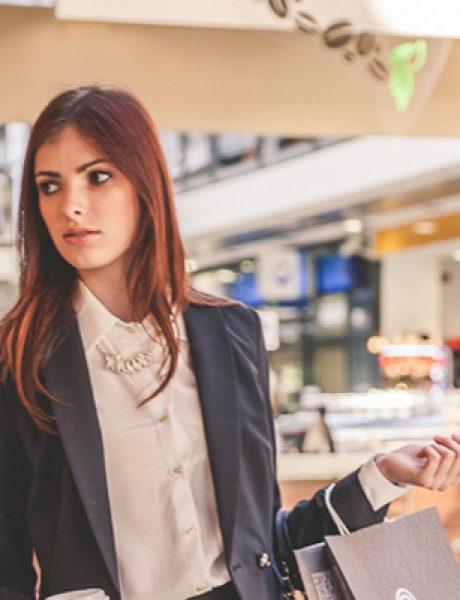 Modni predlozi iz Immo Outlet Centra: Poslovna dama