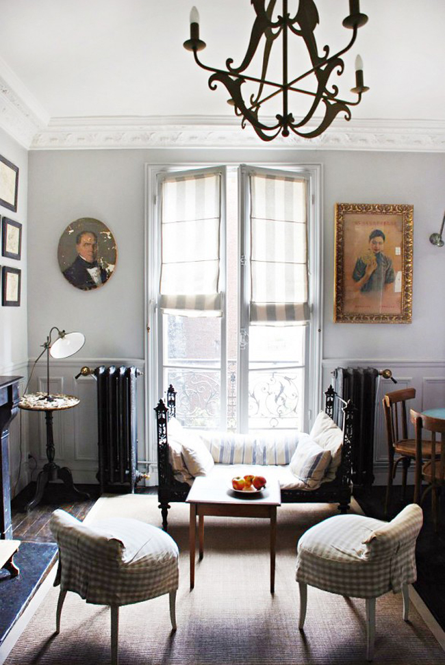 nedovršenost Dekorišite dom u francuskom stilu