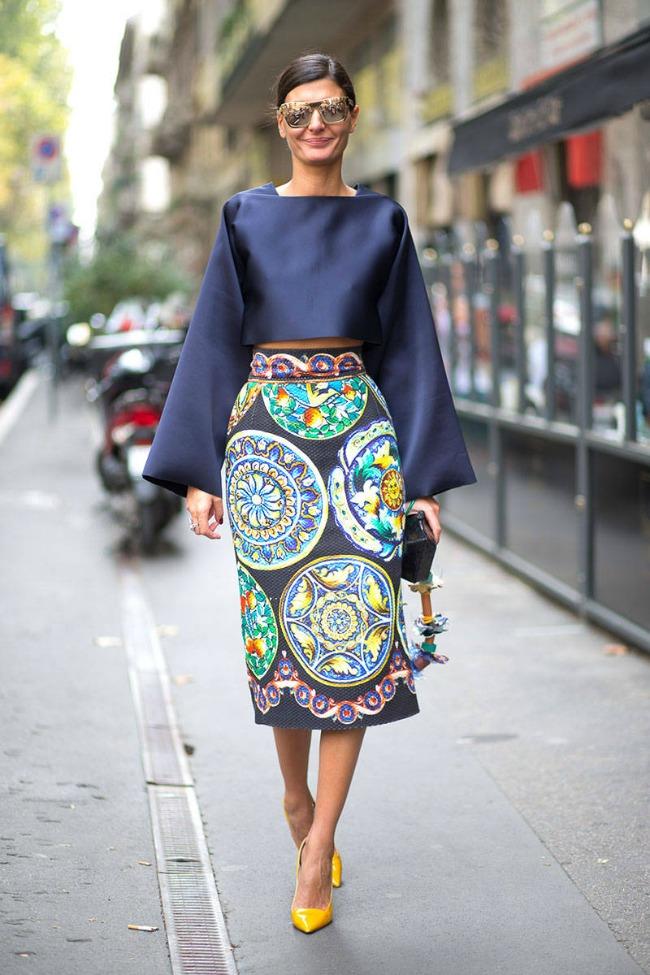 street style na nedelji mode u milanu djovana batalja Street Style na Nedelji mode u Milanu