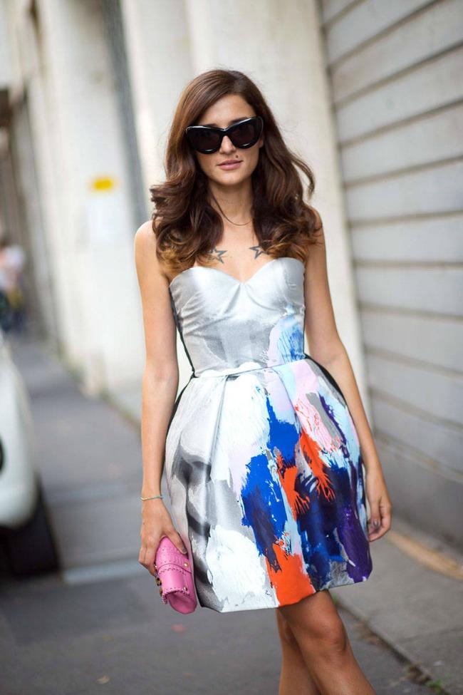 street style na nedelji mode u milanu eleonora karisi Street Style na Nedelji mode u Milanu