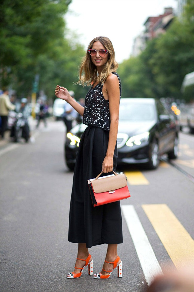 street style na nedelji mode u milanu kandela novembre Street Style na Nedelji mode u Milanu
