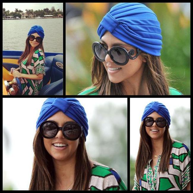 turban Boho aksesoari za kosu