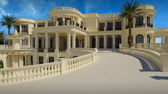 ulaz Kuće bogatih: Najskuplja američka vila