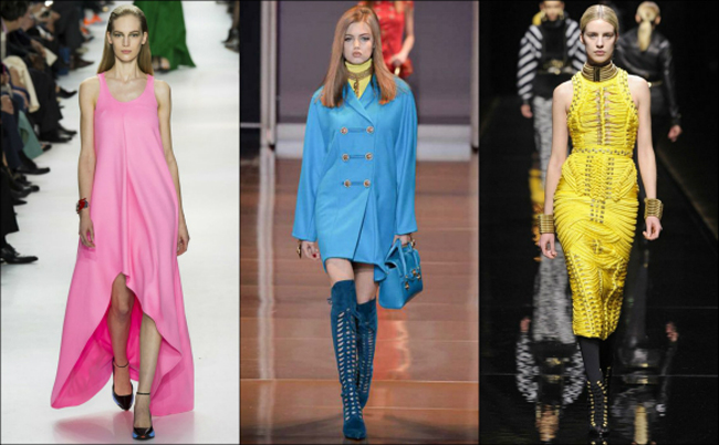 vedre boje Jesenji trendovi sa modnih pista