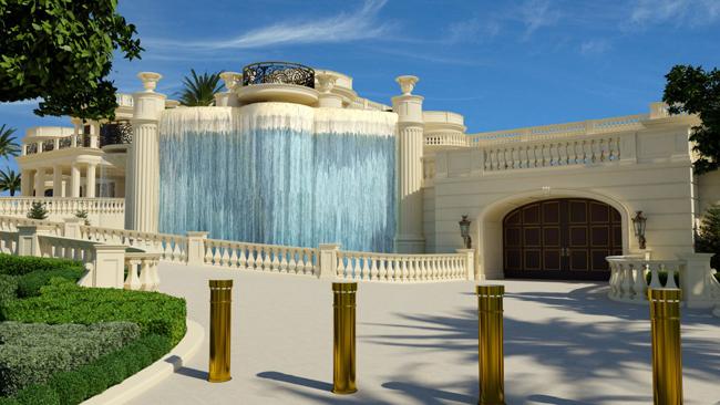 vodopad Kuće bogatih: Najskuplja američka vila
