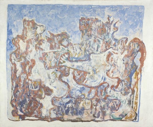 1. Petar Lubarda Izložba 50 umetnika iz zbirki Muzeja savremene umetnosti