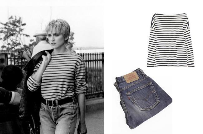 1980s Madonna Denim džins za žene: Od divljeg zapada, do modnih pisti