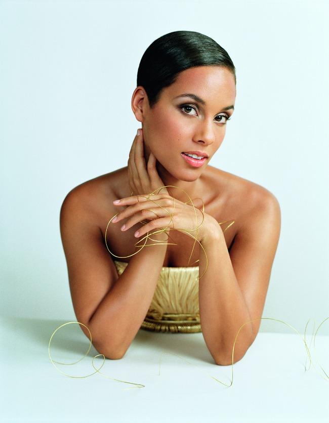 Alicia Keys Givenchy: Dahlia Divin