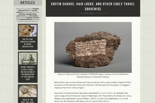Atlas Obscura Najbolji blogovi i sajtovi o putovanjima