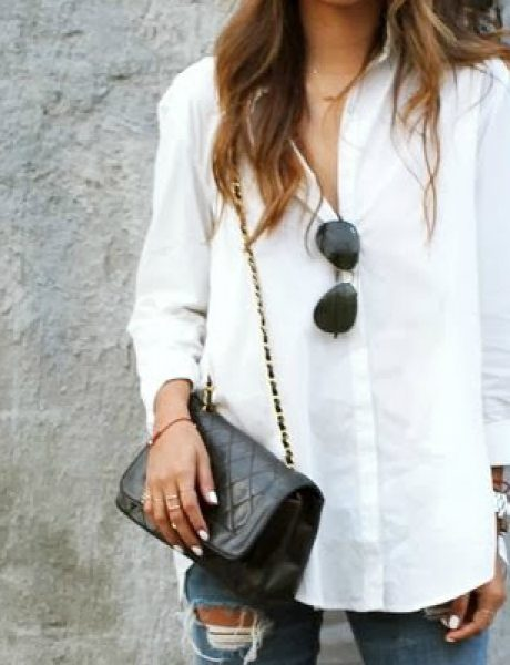 Šta obući ove nedelje: Bela košulja na sedam načina