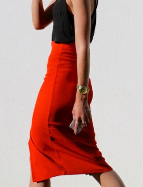 Šta obući ove nedelje: Crvena uska suknja