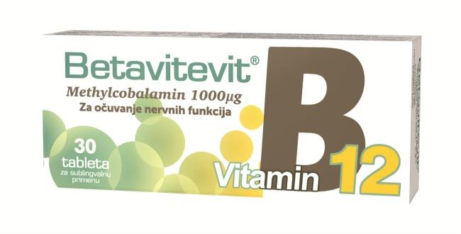 Esensa Betavitevit B12 B12: Crveni vitamin za zdrav nervni sistem!