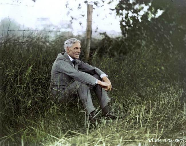 Henri Ford Istorijske fotografije velikih ljudi u kolor tehnici