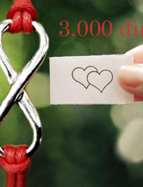 Idealan poklon za beskonačne ljubavi