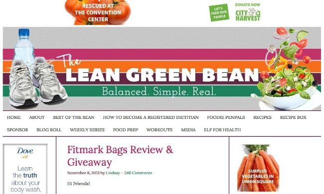 Lean Green Bean1 Najposećeniji fitnes blogovi