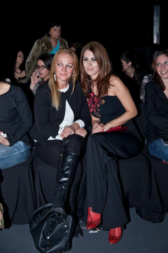 Lena Bogdanovic Jeansomania na Beogradskoj Nedelji mode