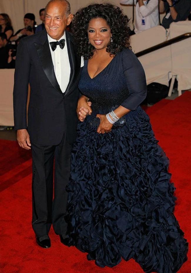 Oprah Winfrey Oscar de la Renta1 Oskar de la Renta: Ikona pop kulture