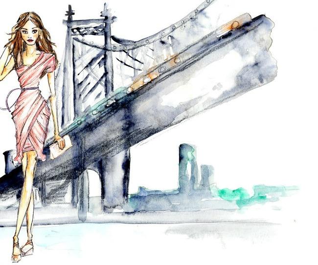 Oskar De La Renta 7 Ilustracije inspirisane delom Oskara de la Rente