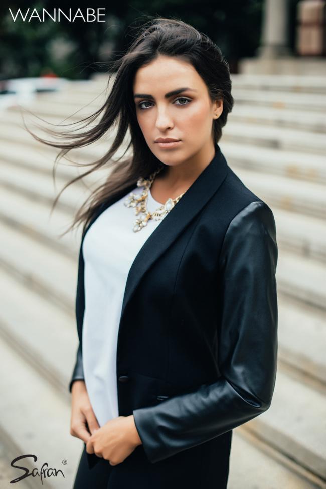 Safran modni predlog wannabe 3 1 Safran modni predlog: Večna kombinacija crnog i belog