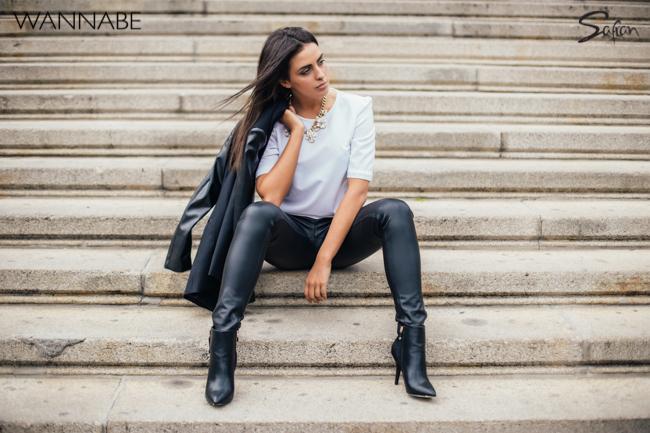 Safran modni predlog wannabe 3 51 Safran modni predlog: Večna kombinacija crnog i belog