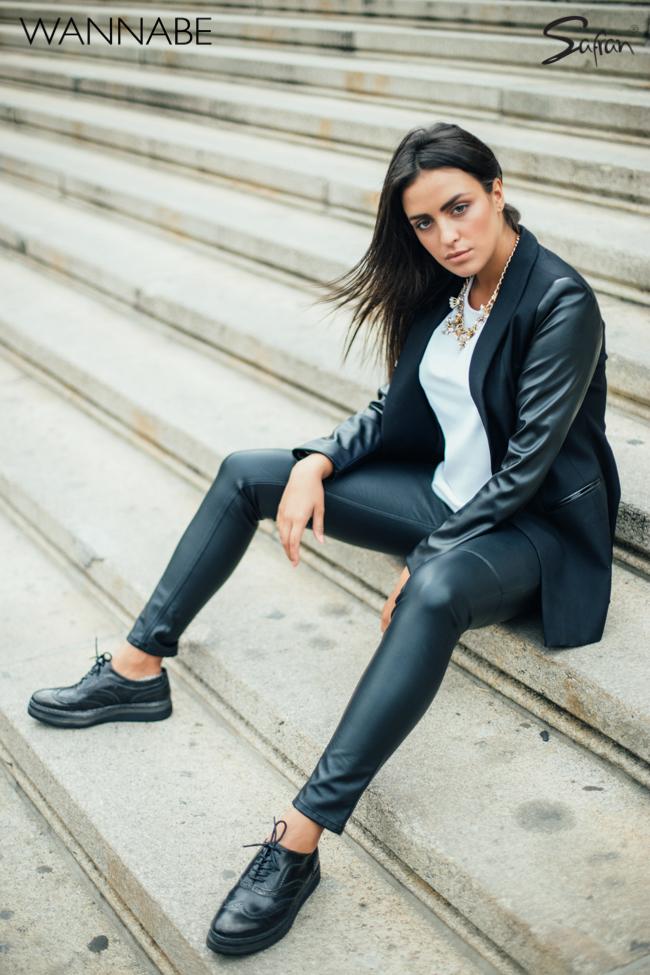 Safran modni predlog wannabe 3 7 Safran modni predlog: Večna kombinacija crnog i belog
