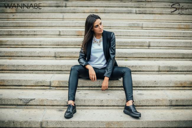 Safran modni predlog wannabe 3 8 Safran modni predlog: Večna kombinacija crnog i belog