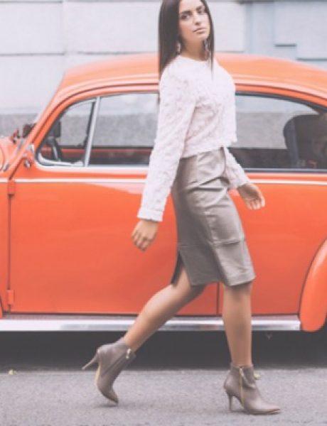 Safran modni predlog: Urbani retro stil