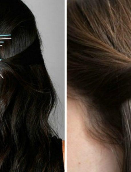 Ukosnicama do trendi frizura za nekoliko minuta
