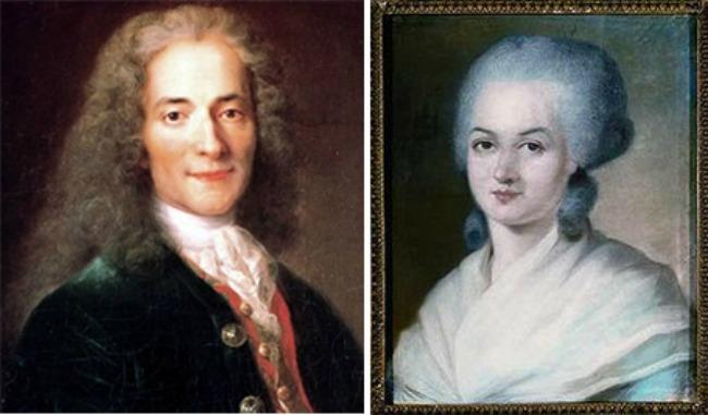 Voltaire+Olympe1 Volterovo ljubavno pismo iz zatvora