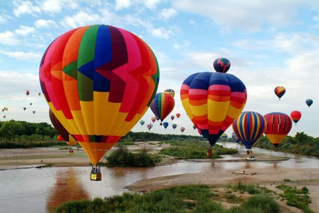 albukerki Najlepši svetski festivali vazdušnih balona