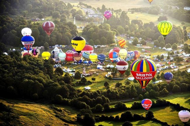 bristol Najlepši svetski festivali vazdušnih balona