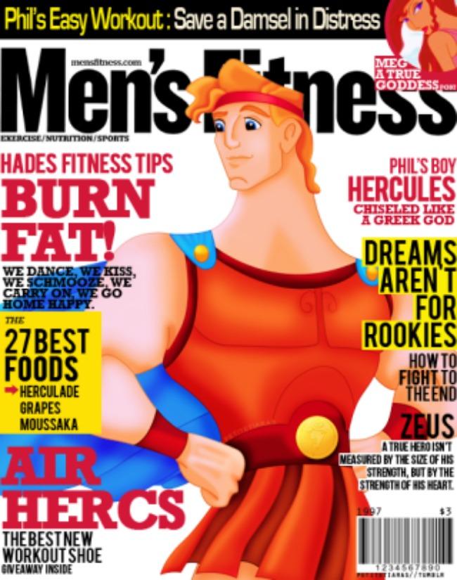 crtani junaci krase naslovnice modnih magazina herkules Kad crtani junaci krase naslovnice modnih magazina
