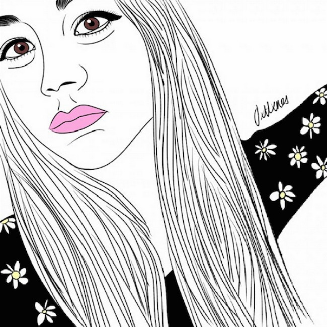 crtež11 Selfi iscrtan rukom