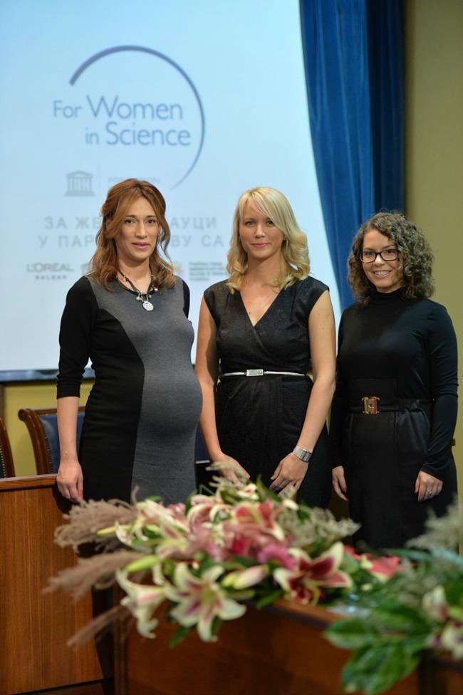 dobitnice Dodeljene stipendije Za žene u nauci