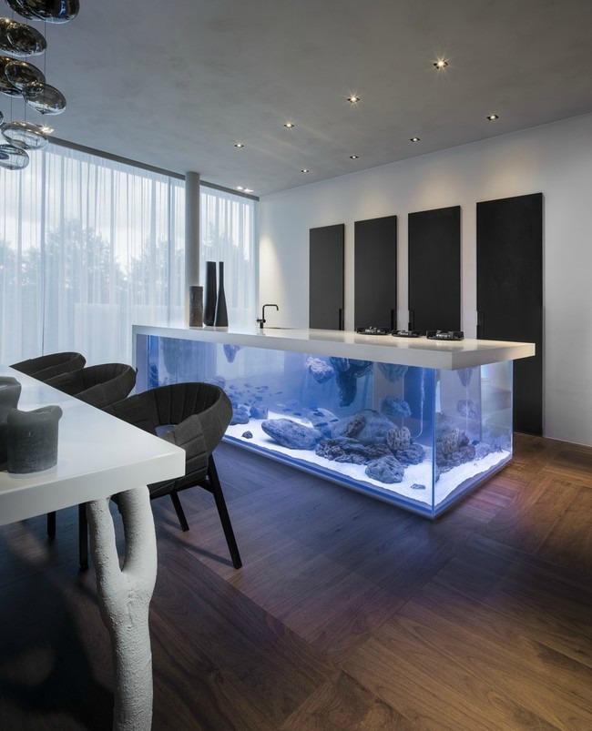 enterijer najlepsi sobni akvarijumi na svetu 1 Enterijer: Najlepši sobni akvarijumi na svetu