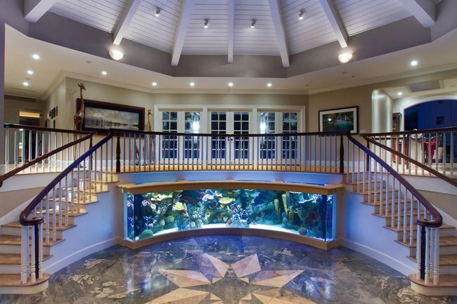 enterijer najlepsi sobni akvarijumi na svetu 2 Enterijer: Najlepši sobni akvarijumi na svetu